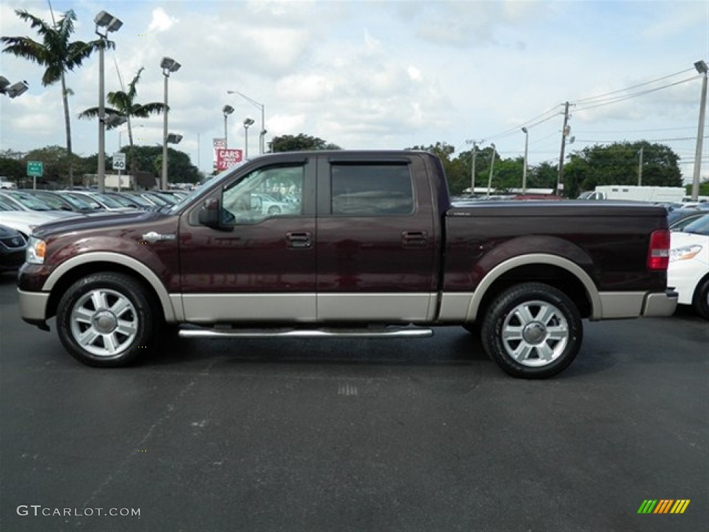 2008 f150 king ranch colors