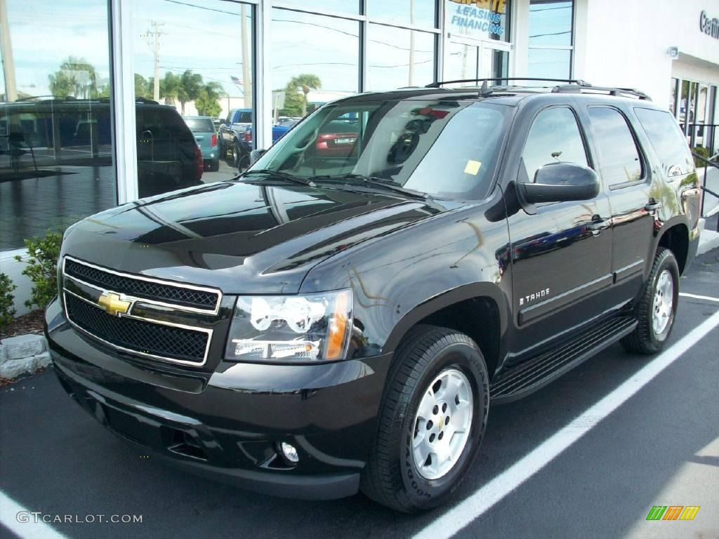 2009 black chevrolet tahoe lt 6045324. Black Bedroom Furniture Sets. Home Design Ideas