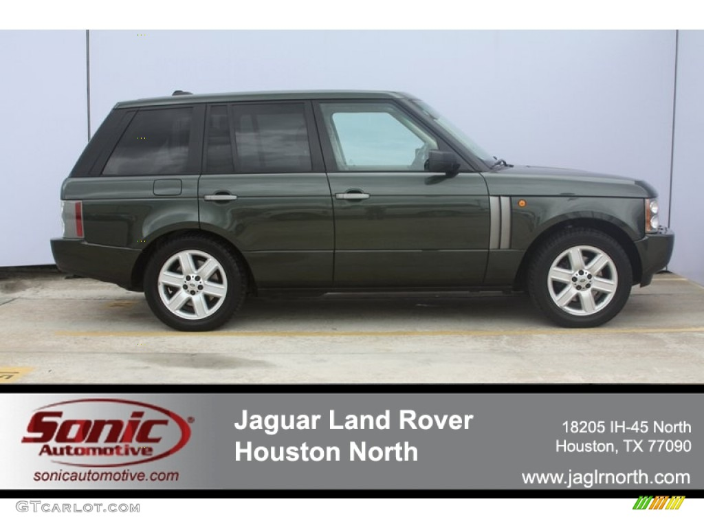 2005 Range Rover HSE - Tonga Green Pearl / Sand/Jet photo #1