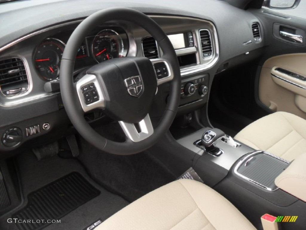 Black Light Frost Beige Interior 2012 Dodge Charger Se Photo 60663173