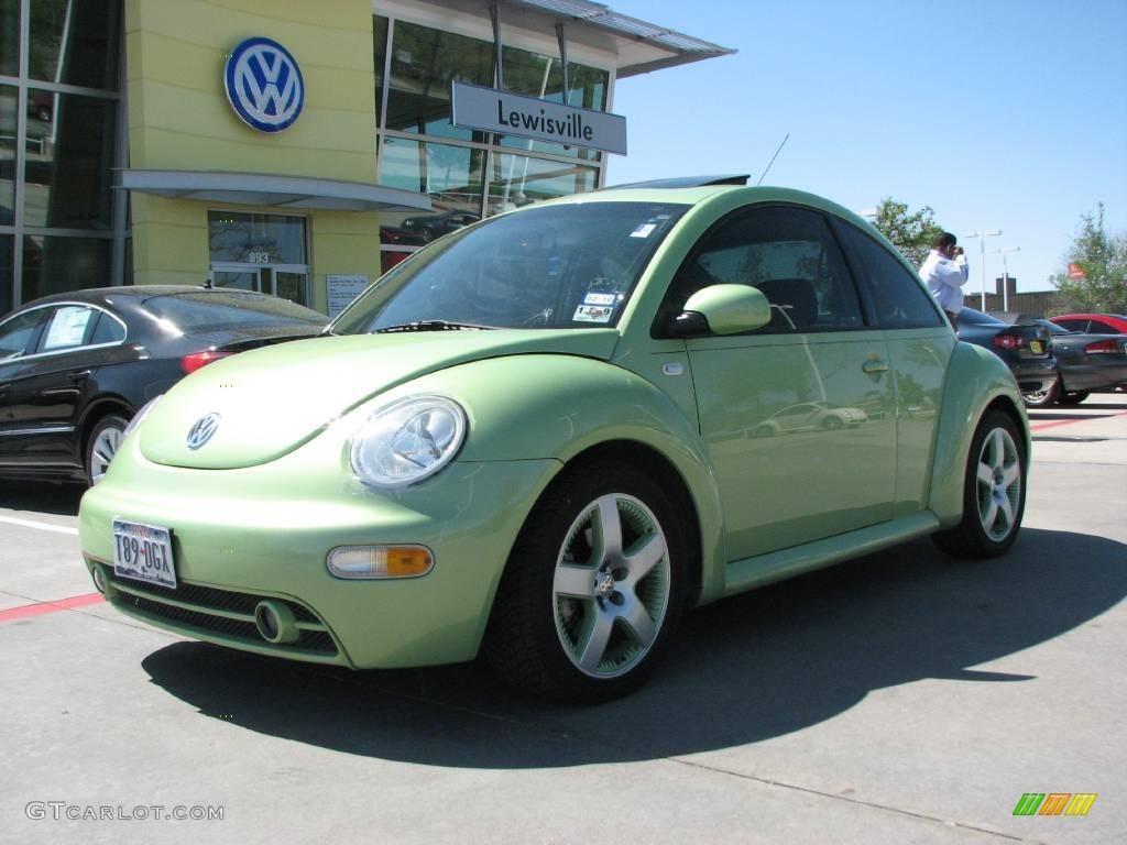 VW 2003 vw bug : 2003 Cyber Green Metallic Volkswagen New Beetle GLS 1.8T Cyber ...