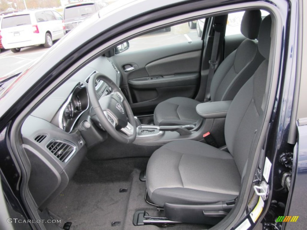 black interior 2012 dodge avenger sxt photo 60666797. Black Bedroom Furniture Sets. Home Design Ideas