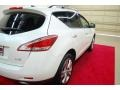 2011 Glacier White Pearl Nissan Murano LE  photo #6