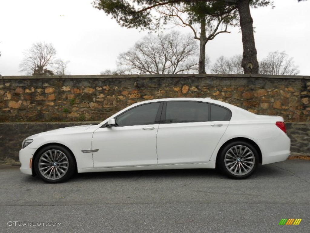 alpine white 2009 bmw 7 series 750li sedan exterior photo. Black Bedroom Furniture Sets. Home Design Ideas