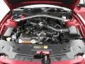 2011 Red Candy Metallic Ford Mustang V6 Convertible  photo #26