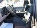 2012 Mocha Steel Metallic Chevrolet Silverado 1500 Work Truck Regular Cab 4x4  photo #14