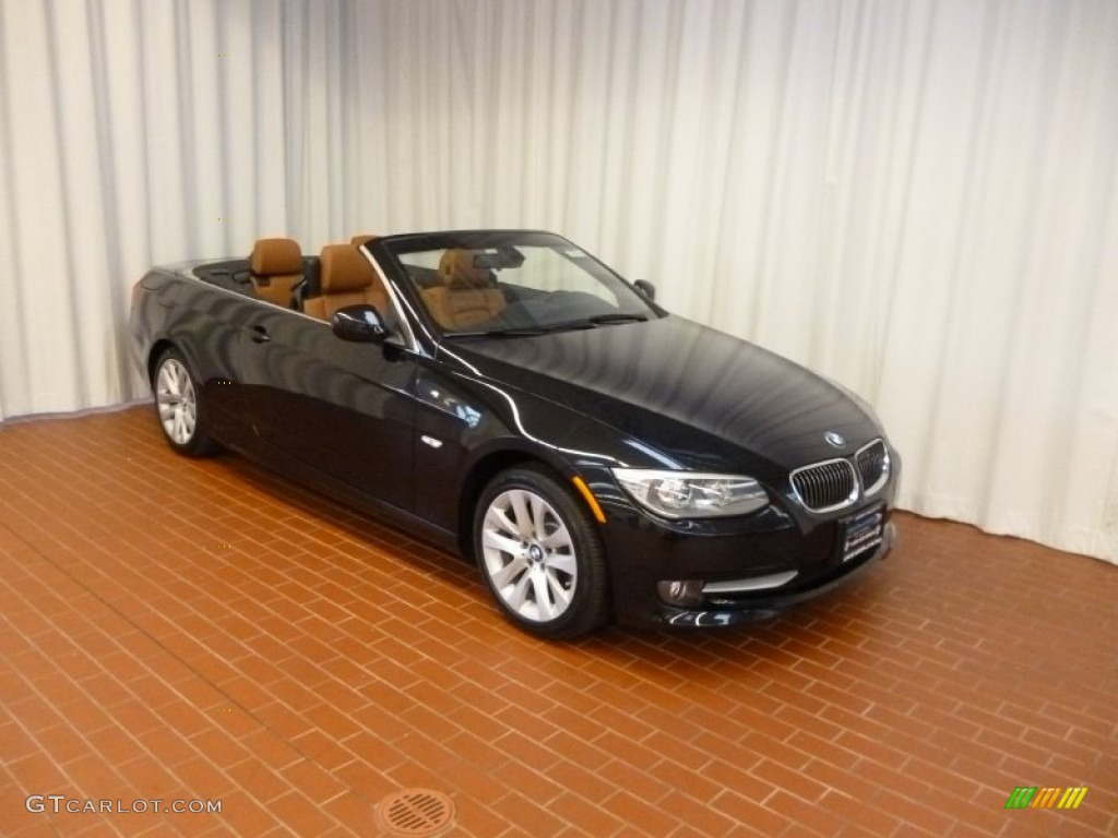 Black Sapphire Metallic BMW Series I Convertible - 2012 bmw 328i convertible