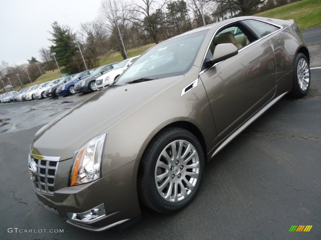 2012 Mocha Steel Metallic Cadillac Cts 4 Awd Coupe