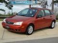 2005 Blazing Copper Metallic Ford Focus ZX5 SE Hatchback #60657115
