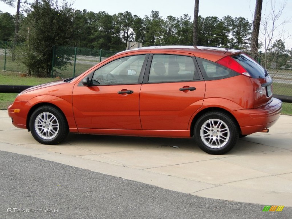 focus 2005 ford zx5 hatchback se copper exterior blazing metallic gtcarlot