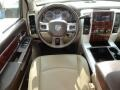 Light Pebble Beige/Bark Brown Dashboard Photo for 2010 Dodge Ram 3500 #60690668