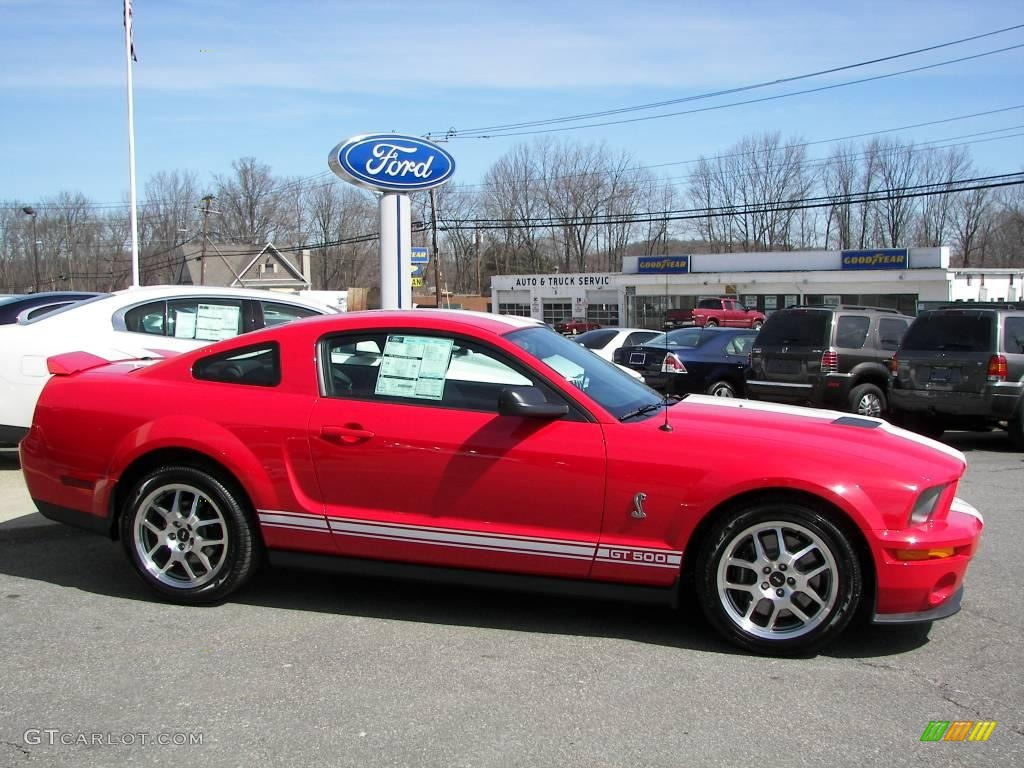 torch red 2009 ford mustang shelby gt500 coupe exterior photo 6069941. Black Bedroom Furniture Sets. Home Design Ideas