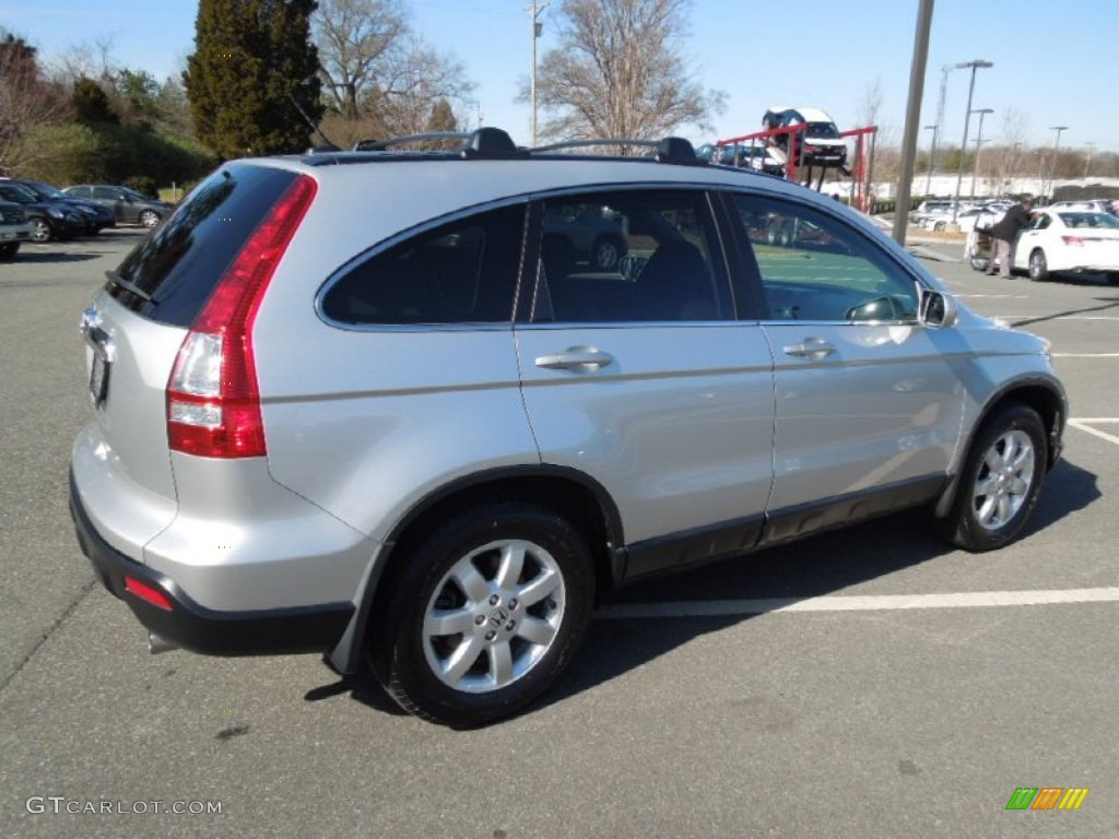 2009 CR-V EX-L - Alabaster Silver Metallic / Gray photo #6