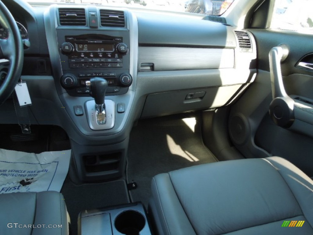 2009 CR-V EX-L - Alabaster Silver Metallic / Gray photo #18