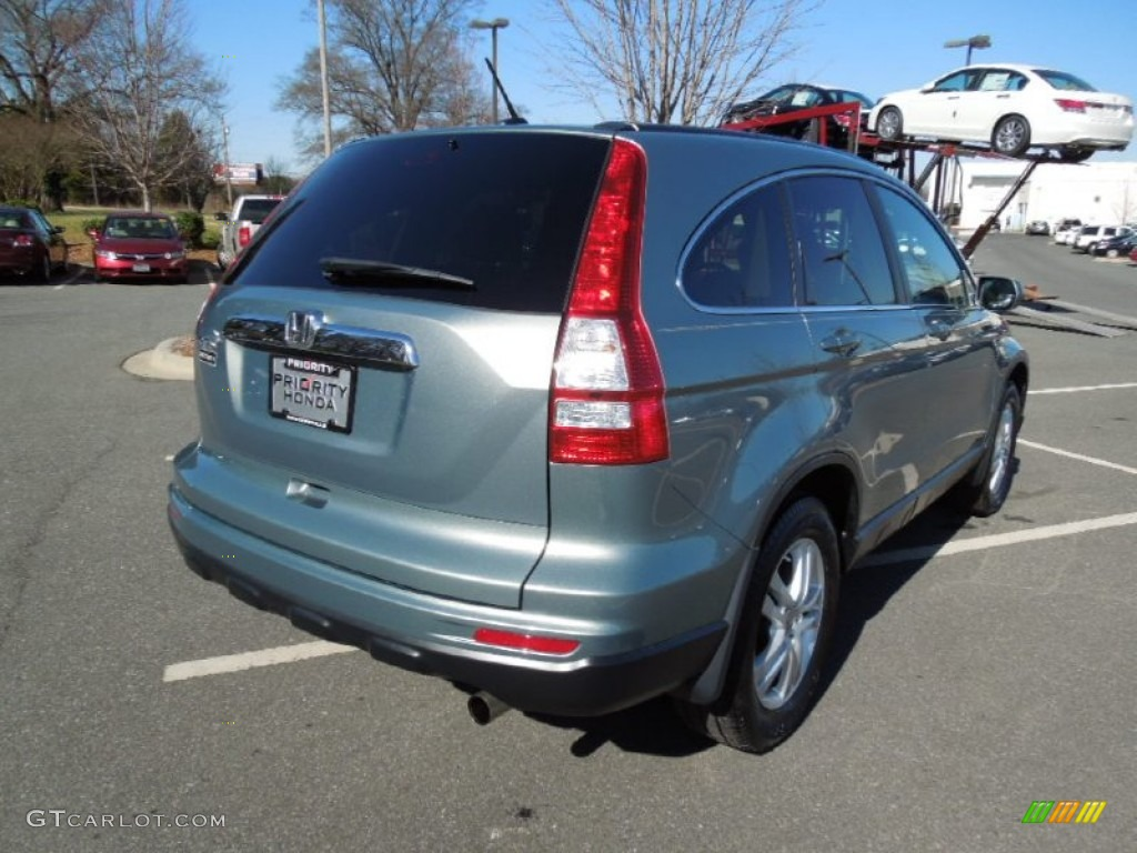 2010 CR-V EX-L - Opal Sage Metallic / Ivory photo #4