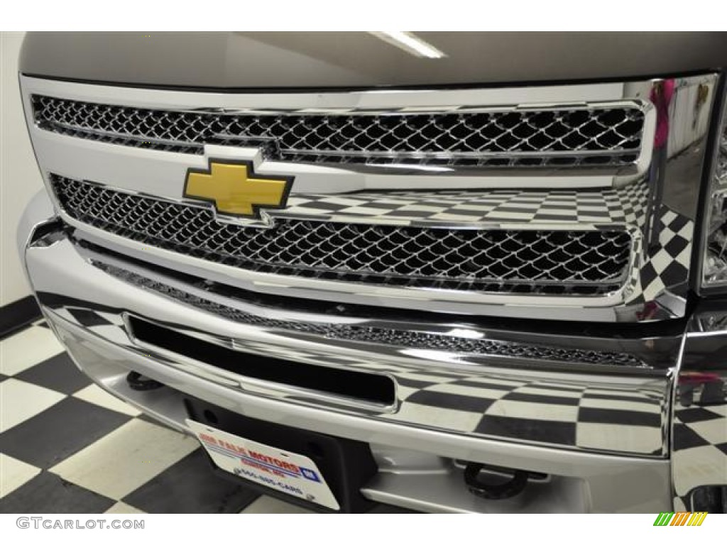 2012 Silverado 1500 LT Extended Cab 4x4 - Graystone Metallic / Ebony photo #5