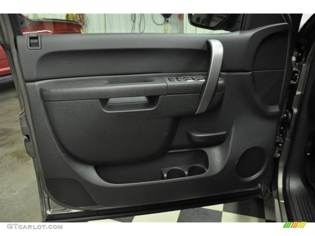 2012 Silverado 1500 LT Extended Cab 4x4 - Graystone Metallic / Ebony photo #8