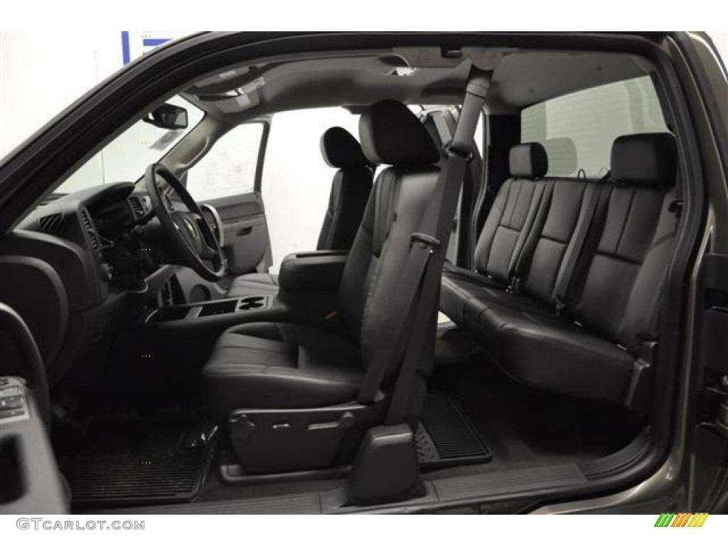 2012 Silverado 1500 LT Extended Cab 4x4 - Graystone Metallic / Ebony photo #10
