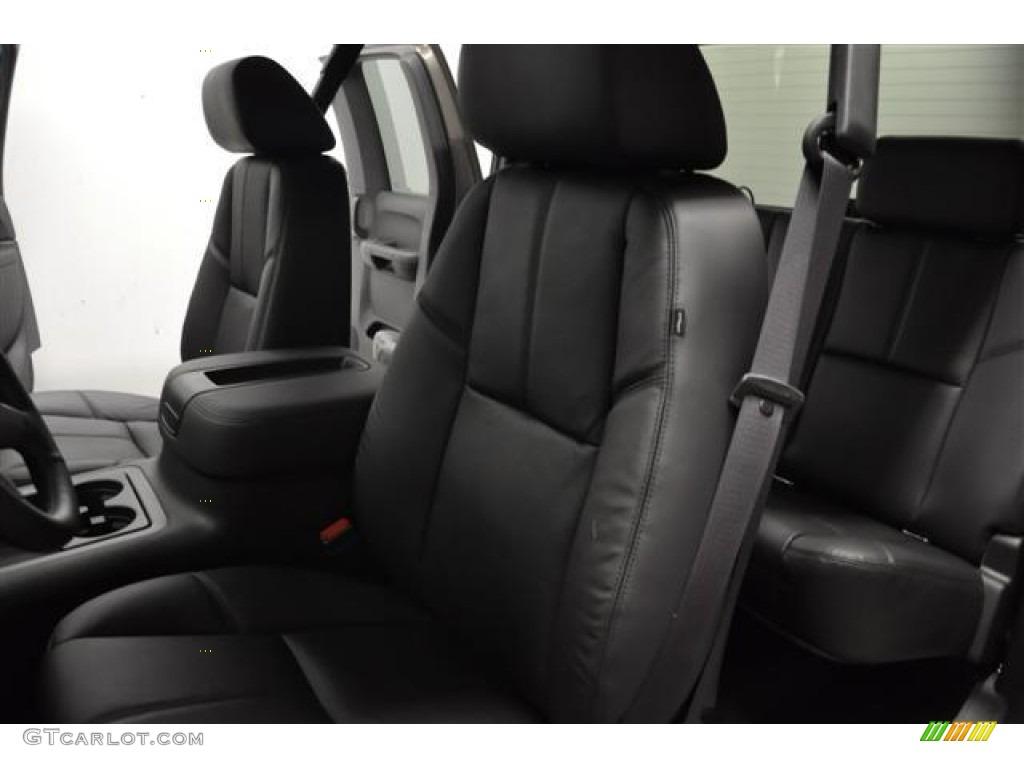 2012 Silverado 1500 LT Extended Cab 4x4 - Graystone Metallic / Ebony photo #11