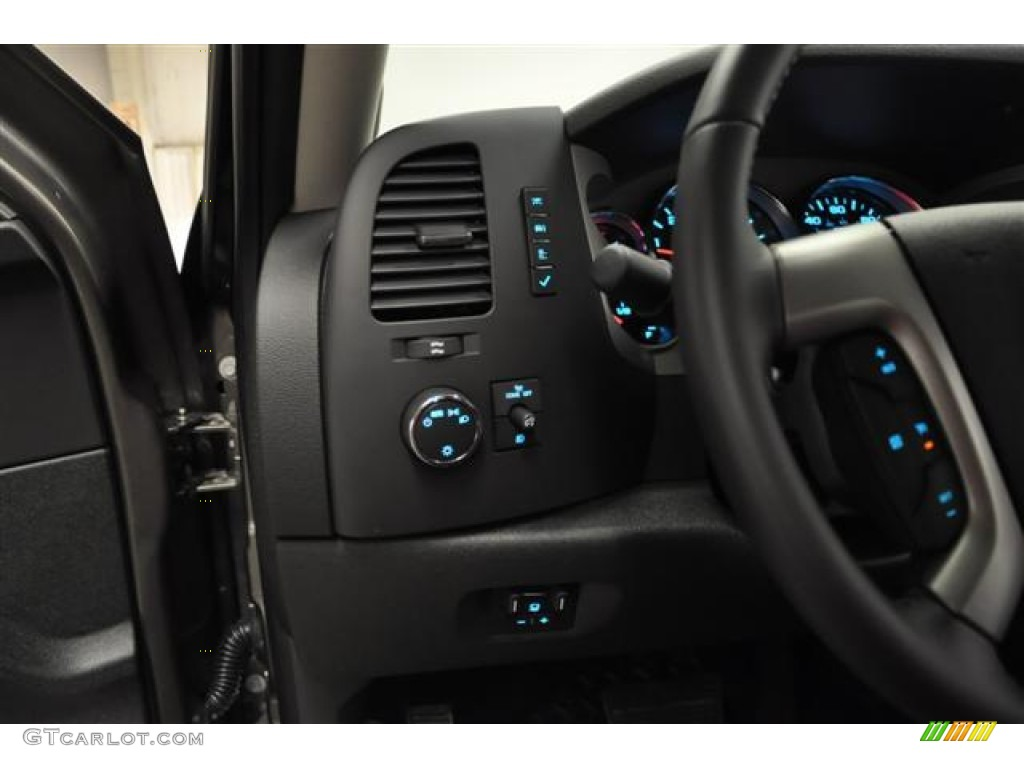 2012 Silverado 1500 LT Extended Cab 4x4 - Graystone Metallic / Ebony photo #15