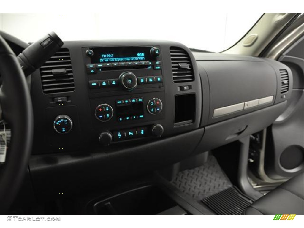 2012 Silverado 1500 LT Extended Cab 4x4 - Graystone Metallic / Ebony photo #18