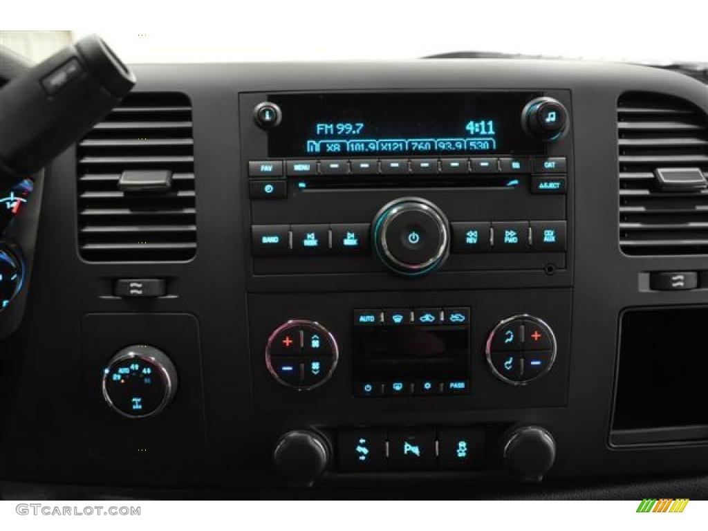 2012 Silverado 1500 LT Extended Cab 4x4 - Graystone Metallic / Ebony photo #19