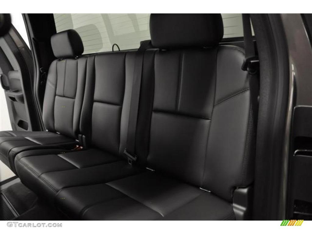2012 Silverado 1500 LT Extended Cab 4x4 - Graystone Metallic / Ebony photo #21