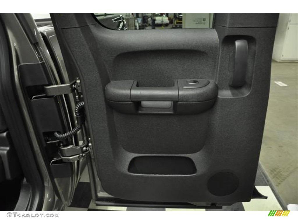 2012 Silverado 1500 LT Extended Cab 4x4 - Graystone Metallic / Ebony photo #23