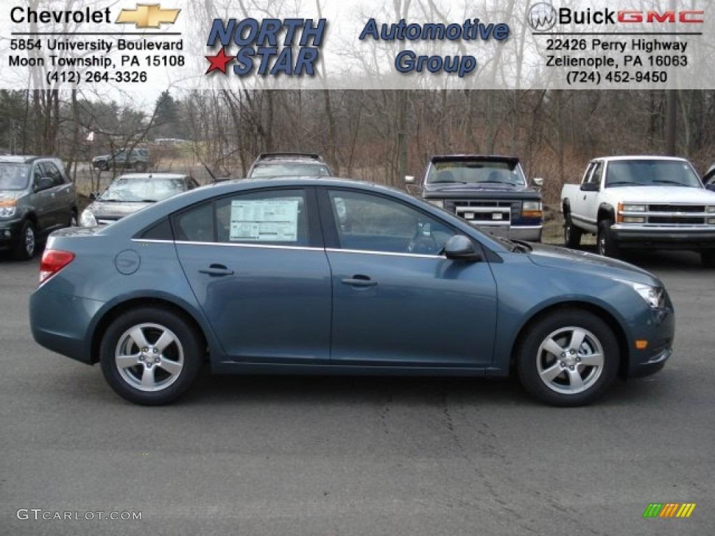 2012 Blue Granite Metallic Chevrolet Cruze LT #60696219 ...