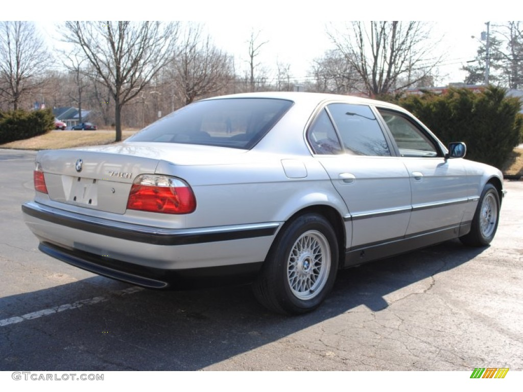 Arctic silver metallic 1997 bmw 7 series 740i sedan exterior photo 60709861