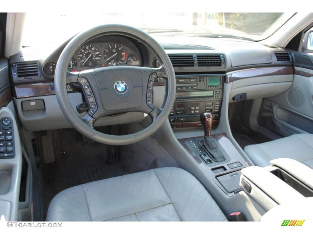 1997 bmw 7 series 740i sedan grey dashboard photo 60709950