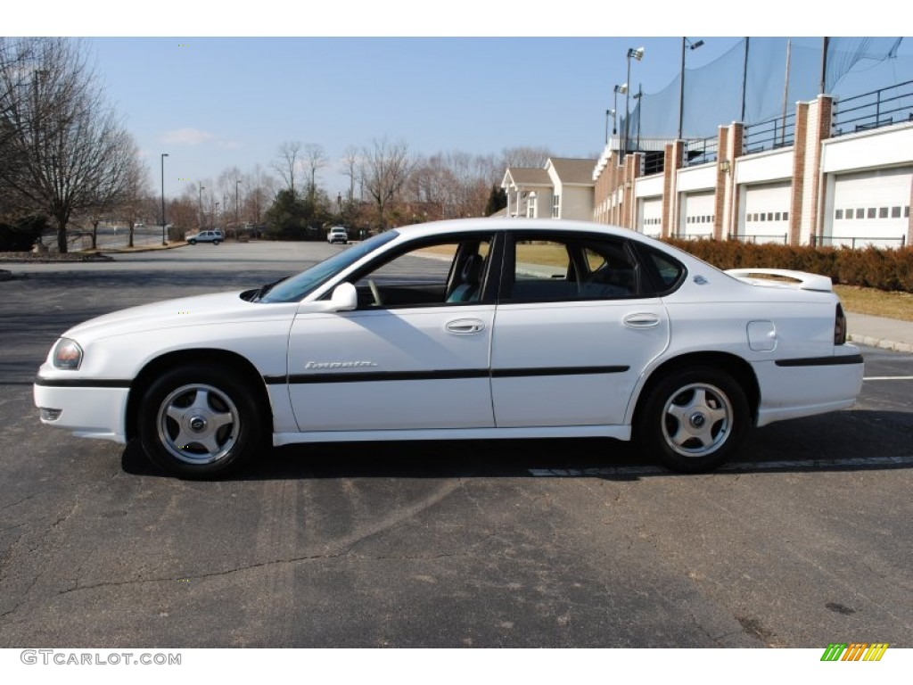 2000 bright white chevrolet impala ls 60696494 photo 3 car color galleries. Black Bedroom Furniture Sets. Home Design Ideas