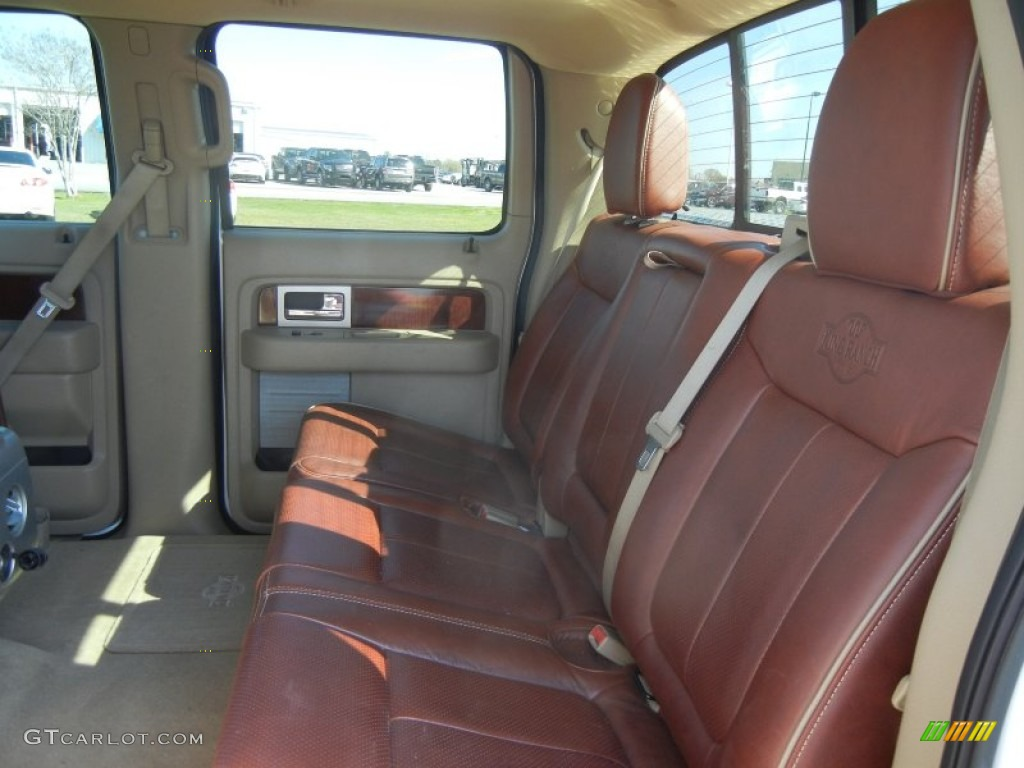 Chapparal Leather Interior 2010 Ford F150 King Ranch Supercrew 4x4 Photo 60710950 Gtcarlot Com
