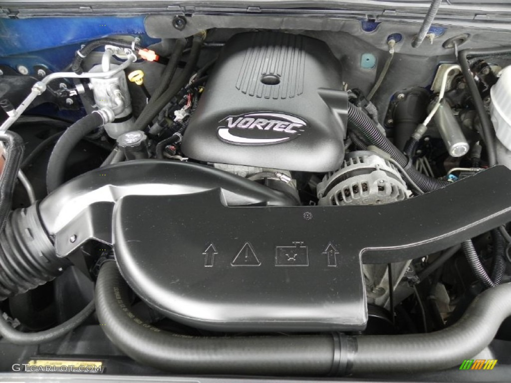 2005 chevrolet avalanche lt 4x4 5 3 liter ohv 16 valve vortec v8 rh  gtcarlot com