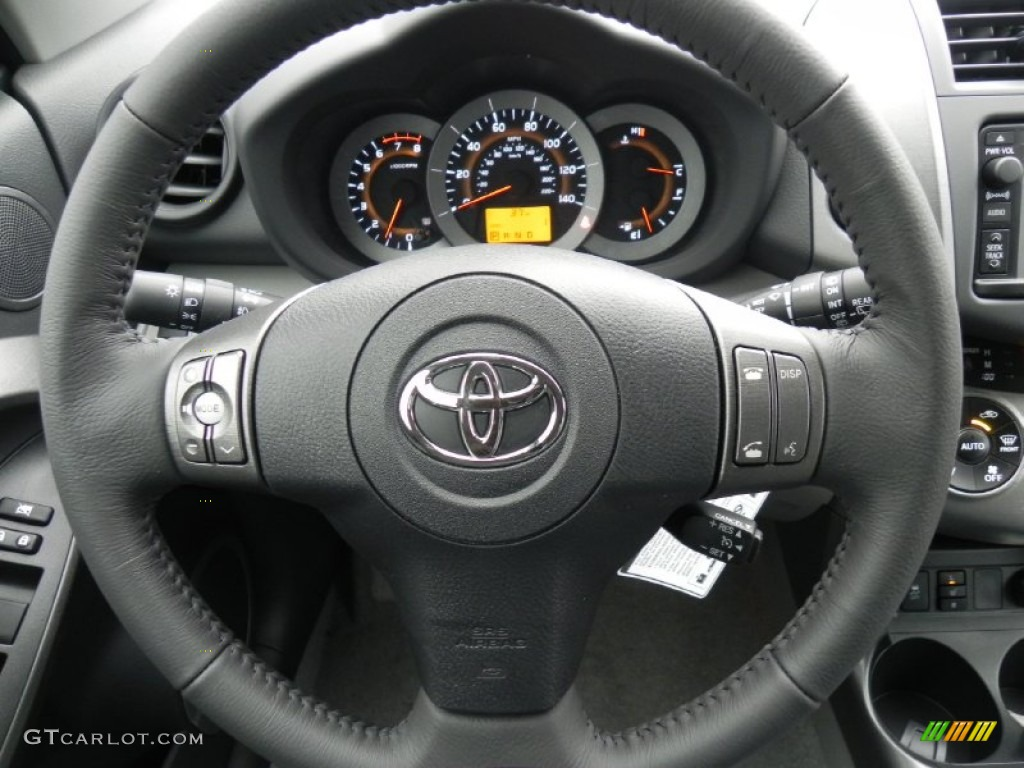 2017 Toyota Rav4 Limited 4wd Ash Steering Wheel Photo 60718075