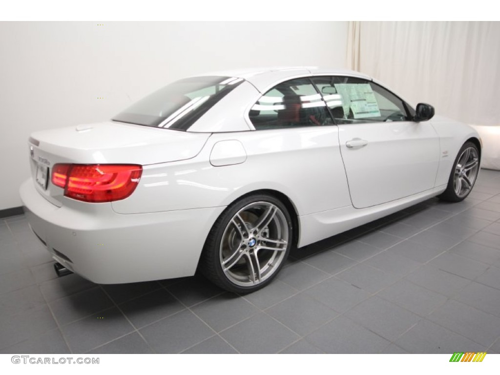 Alpine white 2012 bmw 3 series 335is convertible exterior photo 60721090