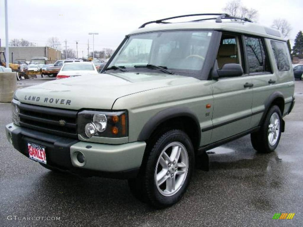 Vienna green land rover discovery