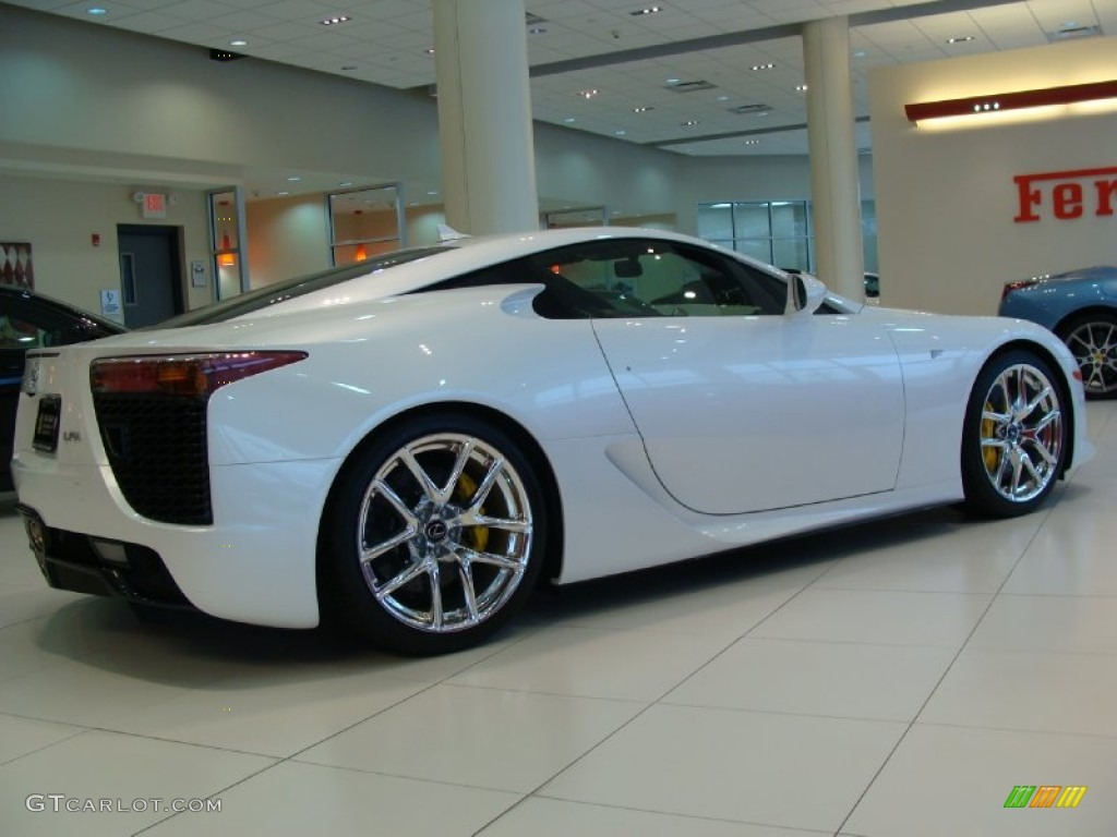 Pearl White 2012 Lexus Lfa Coupe Exterior Photo 60723808