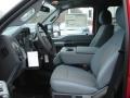 2012 Vermillion Red Ford F250 Super Duty XLT Crew Cab 4x4  photo #11