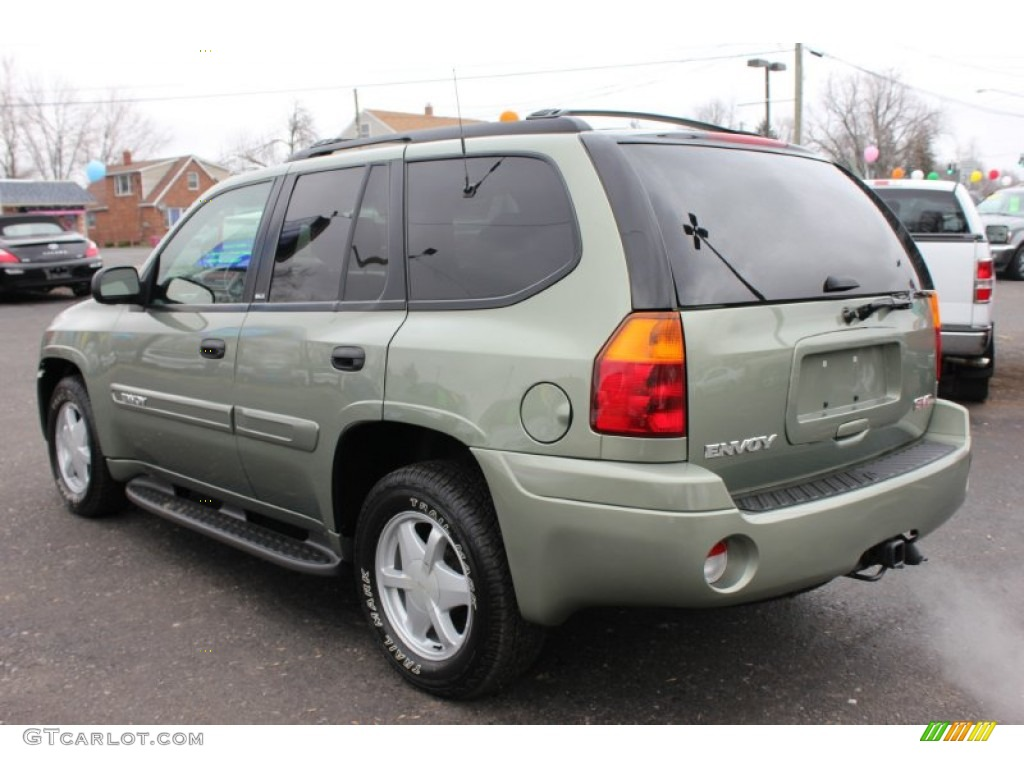 silver green metallic 2003 gmc envoy sle 4x4 exterior. Black Bedroom Furniture Sets. Home Design Ideas