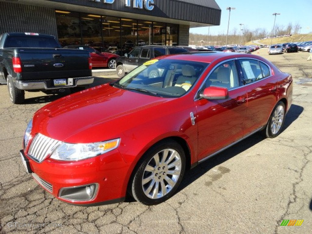 2010 red candy metallic lincoln mks ecoboost awd 60696423 photo 7 car color. Black Bedroom Furniture Sets. Home Design Ideas