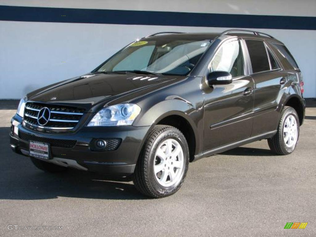 2007 verde brook metallic mercedes benz ml 320 cdi 4matic 6055758 car color. Black Bedroom Furniture Sets. Home Design Ideas