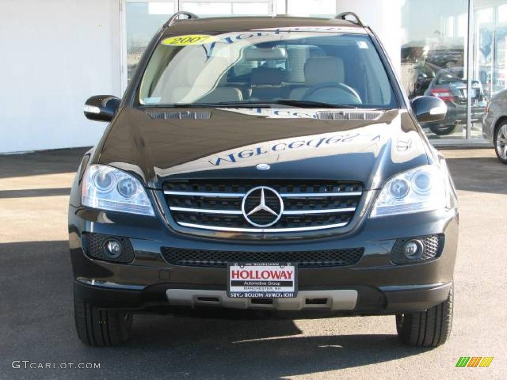 2007 verde brook metallic mercedes benz ml 320 cdi 4matic 6055758 photo 2 car. Black Bedroom Furniture Sets. Home Design Ideas