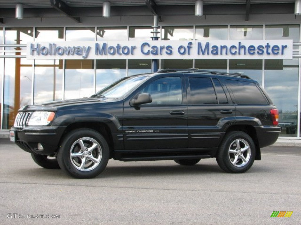 2002 jeep grand cherokee limited 4x4 black color dark slate gray. Cars Review. Best American Auto & Cars Review