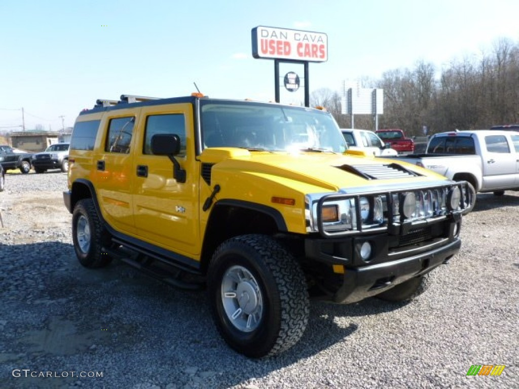 2003 H2 SUV - Yellow / Wheat photo #1