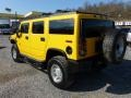 2003 Yellow Hummer H2 SUV  photo #4