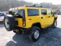 2003 Yellow Hummer H2 SUV  photo #6
