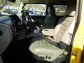 2003 Yellow Hummer H2 SUV  photo #10