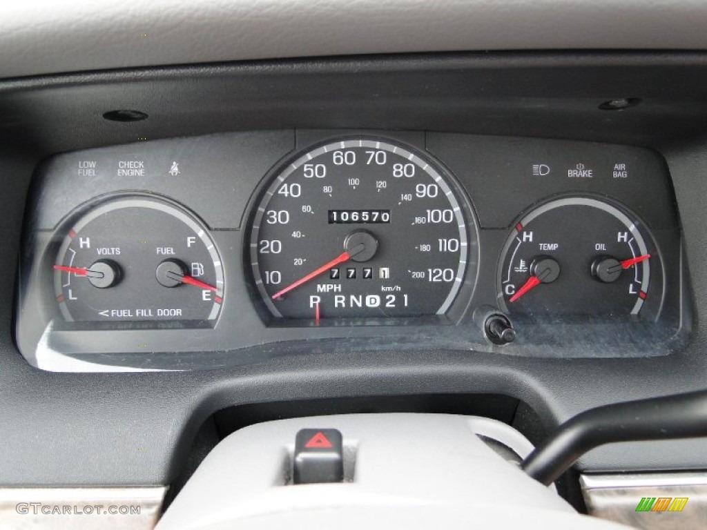 1998 Ford Crown Victoria Lx Sedan Gauges Photo 60741286