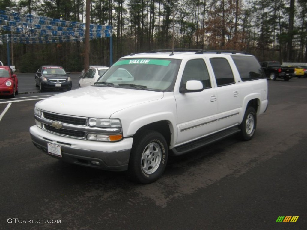 2004 summit white chevrolet suburban 1500 lt 60696581. Black Bedroom Furniture Sets. Home Design Ideas
